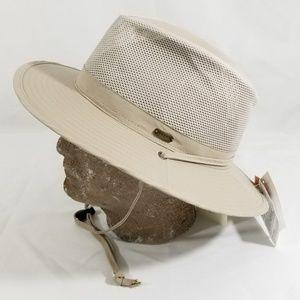 New Men's Stetson Sun Hat size XL Tan Panama Hat